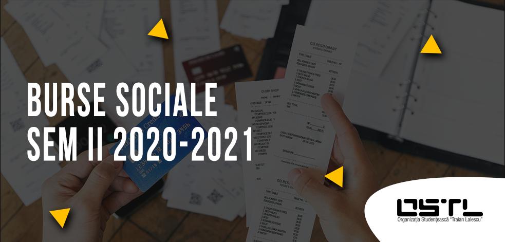 Burse sociale Sem II 2020-2021