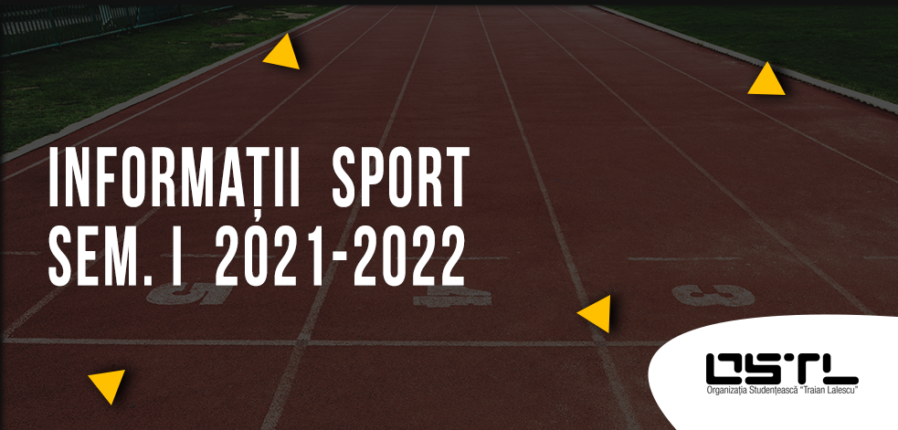 Informatii sport 2021-2022