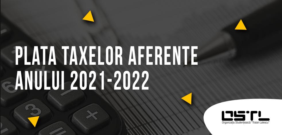 taxe 2021-2022